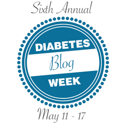 diabetes blog week logo