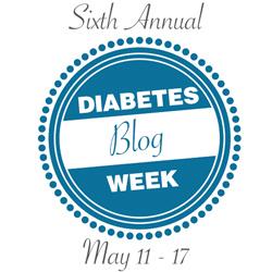 diabetes blog week logo